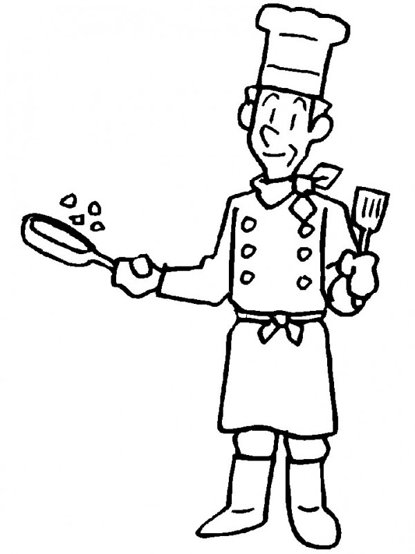 μάγειρας. BGE αγκιστβά